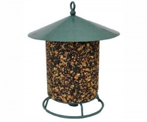 China Pine Tree Farms 8007 Classic Seed Log Hanging Bird Feeder Made in the USA on sale