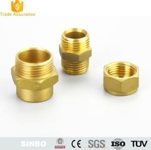 China CNC Machining Brass Threaded Tube Fitting/Elbow Brass Hose Fitting Parts on sale