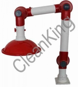 China Welding Fume Extractor Laboratory Fume Extraction Arm with 2 Joints on sale