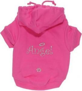 China Pink Angel Hoodie on sale