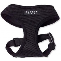 China Classic Soft Puppia Harness Black on sale