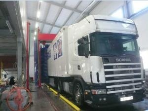 China Standard Rollover Bus And Truck Wash Machine on sale