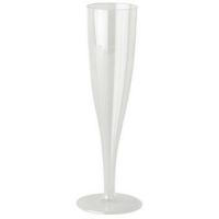 China 100ml Plastic Champagne Flute (100/box) on sale
