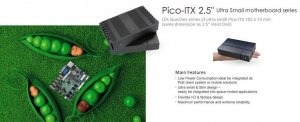 China Pico-ITX 2.5 Ultra Small motherboard series on sale