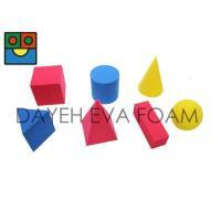 "EVA Foam Geometric Solid Block set, 2"", 7 piece EG7507"