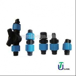China Irrigation Drip Tape Fittings/ Soft Pipe Bypass Valve on sale