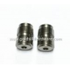 China Nuts Custom-made brass part with inner threaded for sale