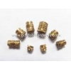 China Slotted Female threaded Press-Fit Inserts for sale