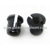 China Brass Thru-threaded press-fit inserts for plastic for sale