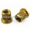 China Brass external threaded round insert nut made in China (factory direct sale) for sale