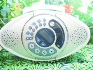 China Hidden Spy Camera Shower FM CD Radio Camera Bathroom Hidden Waterproof Camera DVR 32GB on sale