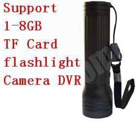 China Spy Camera Flashlight Spy Camera DVR Support 1-8GB TF Card on sale