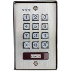 China Vandal Resistant Outdoor Access Control Keypad with Proximity Reader on sale