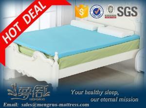 China Memory foam topper roll pack memory foam mattress topper on sale