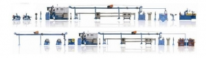 China Building Wire Extruder Line on sale