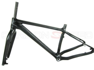 China CS-018 26er full carbon fat bike frame frame 135*15mm/197*12mm axle on sale