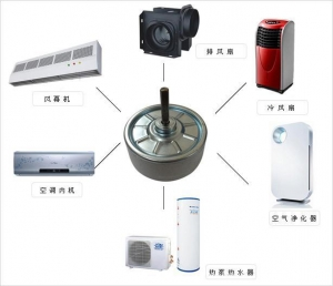 China Household Air Conditioner Brushless DC motor on sale