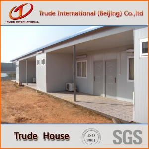 China Prefab concrete house prefabricated modular house on sale
