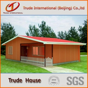 China Prefab concrete house concrete prefabricated house on sale