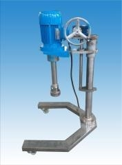 China Vacuum Emulsifying Machine lab. type emulsifying mixer with lifter on sale