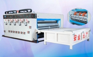 China Semi-automatic Printing and Slotting Machine on sale