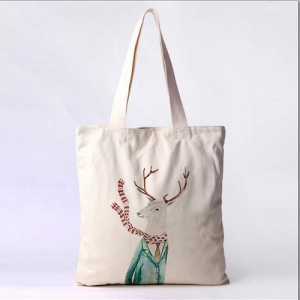 China 100%cotton Tote Bag With Logo Printing on sale