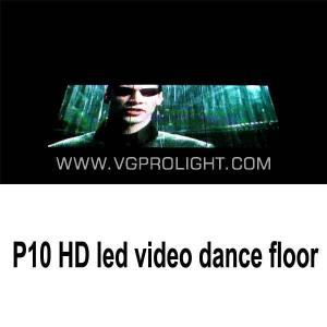 China hot p10 led xxx video dance floor disco floor on sale