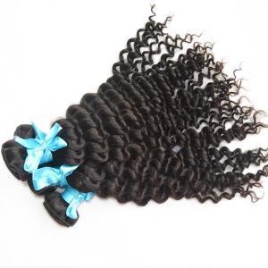 China Virgin Indian deep wave human hair bundles 2pcs on sale