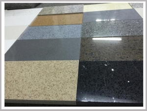 China Engineered Quartz Stone Tiles on sale