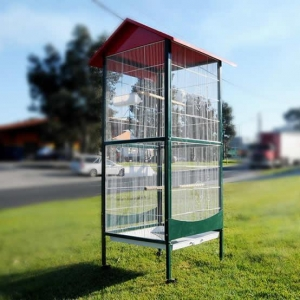 China Movable small bird flight cage as a villa for small pet birds on sale