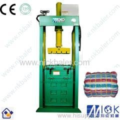China Second hand clothes bale packing machine on sale