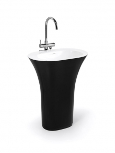 China Best Solid Surface Raw Material Artificial Marble Basin Sink BPB003 on sale