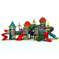 Castle Series Outdoor Playground Equipment