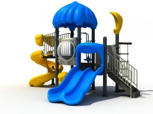China Outdoor Playground Equipment KQ50059B on sale
