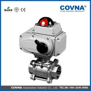 China electric water shut off valve with limited switch on sale