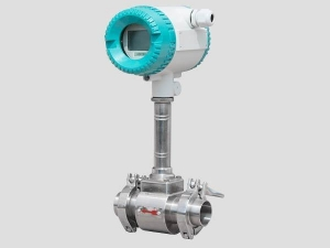 China tri-clamp vortex flow meter on sale