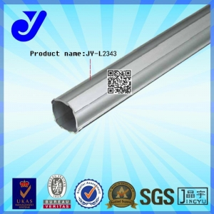 China JY-L2343|Aluminum Tube|Dovetail Groove Tube|Pipe Rack System on sale