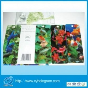 China Rectangle Hot Plastic Lovely Bookmarks for Souvenir on sale