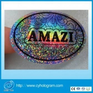 China General Style Hologram Sticker with Overprinting on sale