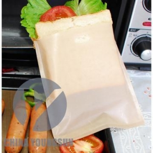 China Non-stick toaster bag with customer logo on sale