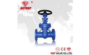 China DIN Standard F4/F5/F7 Stainless Steel Flanged Gate Valve PN10/16/40/64 on sale
