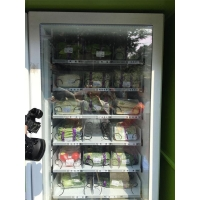 Combo Fruit And Vegetable Vending Machine by Debit Card / coin operated