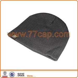China Custom Knitted Beanie hat Model: Z001 on sale