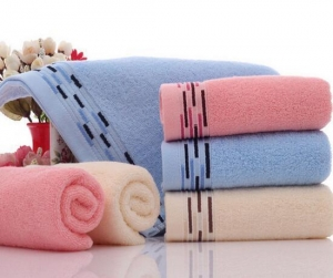 China Cotton Soft Water Absorbing Towel on sale