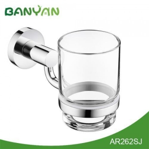 China Yazi bathroom accessories Bathroom single toothbrush tumbler holder on sale