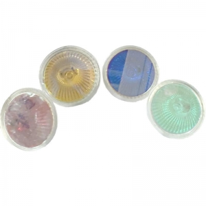 China Colored MR16 halogen light bulbs on sale