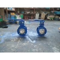 D41X flange type soft seal butterfly valve
