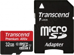 China Transcend Micro SDHC Memory Card 32GB Class 10 Ref TS32GUSDU1 *3 to 5 Day Leadtime* on sale
