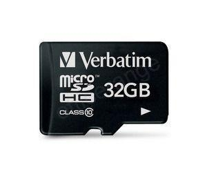 China Verbatim Micro SDHC Class 10 Memory Card MOQ Ref 44013 *3 to 5 Day Leadtime* on sale