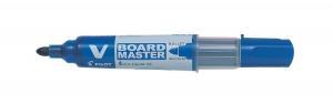 China Pilot V Board Master Whiteboard Marker Blue Ref 454101003 [Pack 10] on sale